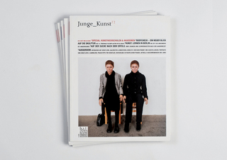 <strong>JUNGE KUNST<br></strong> Ritterbach Verlag / Redesign<br><br>